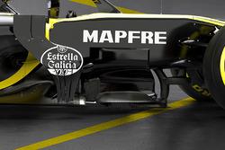 Déflecteurs de la Renault F1 Team RS18