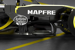 Renault F1 Team RS18 bargeboard detail