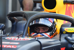 Max Verstappen, Red Bull Racing met halo
