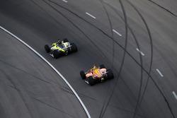 Sébastien Bourdais, Dale Coyne Racing with Vasser-Sullivan Honda, Zach Veach, Andretti Autosport Honda