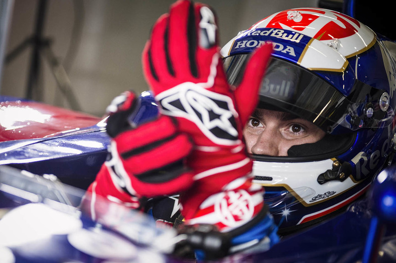 Dani Pedrosa mengetes mobil F1 Toro Rosso