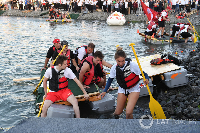 The raft race