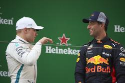 Podio: il vincitore della gara Daniel Ricciardo, Red Bull Racing, il secondo classificato Valtteri Bottas, Mercedes-AMG F1, il terzo classificato Kimi Raikkonen, Ferrari