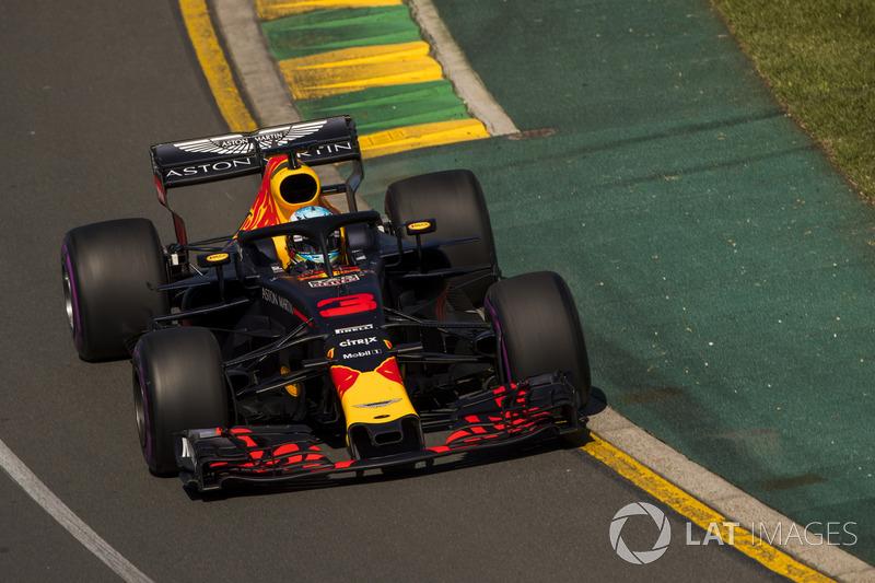 7. Daniel Ricciardo, Red Bull Racing RB14