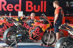 La moto de Pol Espargaro, Red Bull KTM Factory Racing