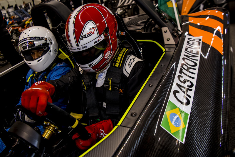 Helio Castroneves del Team Latin America