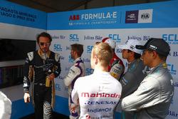 Жен-Ерік Вернь, Techeetah, Сем Бьорд, DS Virgin Racing, Даніель Абт, Audi Sport ABT Schaeffler, Нельсон Піке-мол., Jaguar Racing, Мітч Еванс, Jaguar Racing, Фелікс Розенквіст, Mahindra Racing