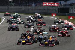 Salida del GP de Alemania