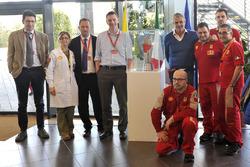Siegerpokal im Ferrari-Headquarter