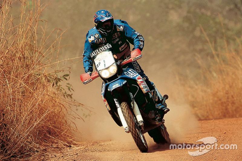 Richard Sainct, BMW y KTM, 3 Dakar