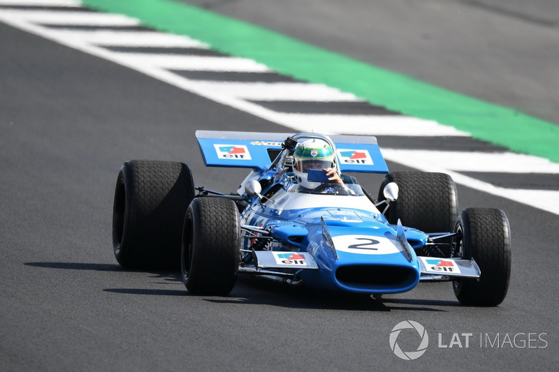 1969 Matra MS80-Cosworth at Silverstone 70th Anniversary Parade