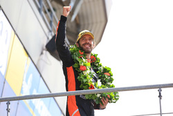 LMP2 podium: winner Jean-Eric Vergne, G-Drive Racing
