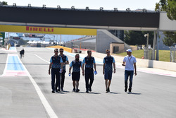 Sergey Sirotkin, Williams walks the track