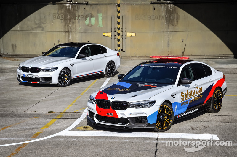 BMW M5 MotoGP Safety Car with the BMW M5