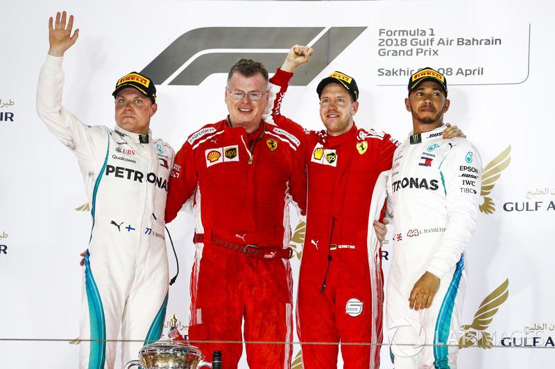 Valtteri Bottas, Mercedes AMG F1, Sebastian Vettel, Ferrari, Lewis Hamilton, Mercedes AMG F1