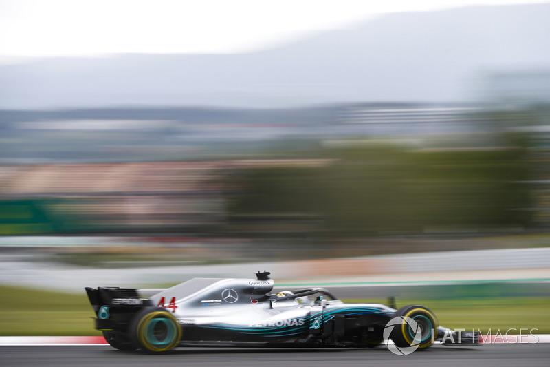 1. Lewis Hamilton, Mercedes AMG F1 W09