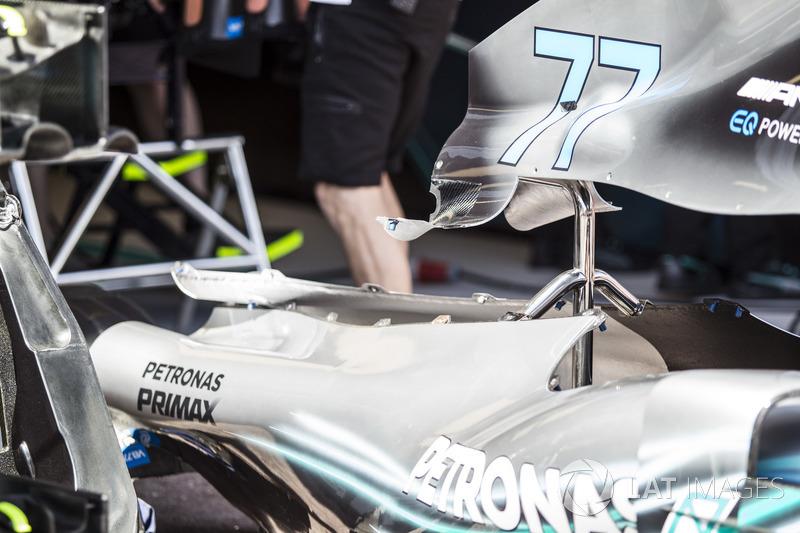 Mercedes-AMG F1 W09 gövde