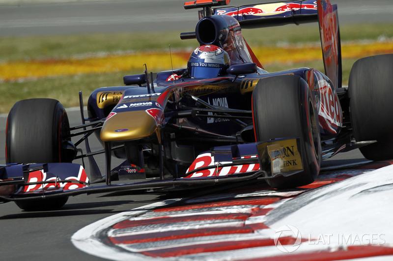 2011: Toro Rosso-Ferrari STR6