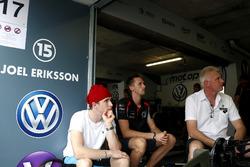 Joel Eriksson, Motopark with VEB, Dallara Volkswagen met broer en vader