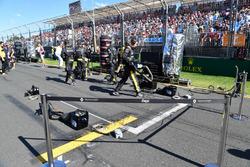 Место Renault Sport F1 Team на стартовой решетке
