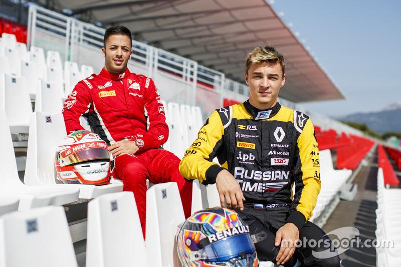 Antonio Fuoco, Charouz Racing System, Artem Markelov, RUSSIAN TIME