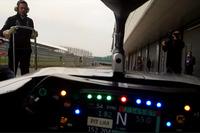 Valtteri Bottas, a bordo con el Halo Mercedes W09