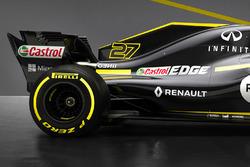 Détails de l'arrière de la Renault F1 Team RS18