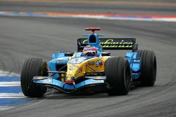 Ganador de la carrera Fernando Alonso, Renault R25