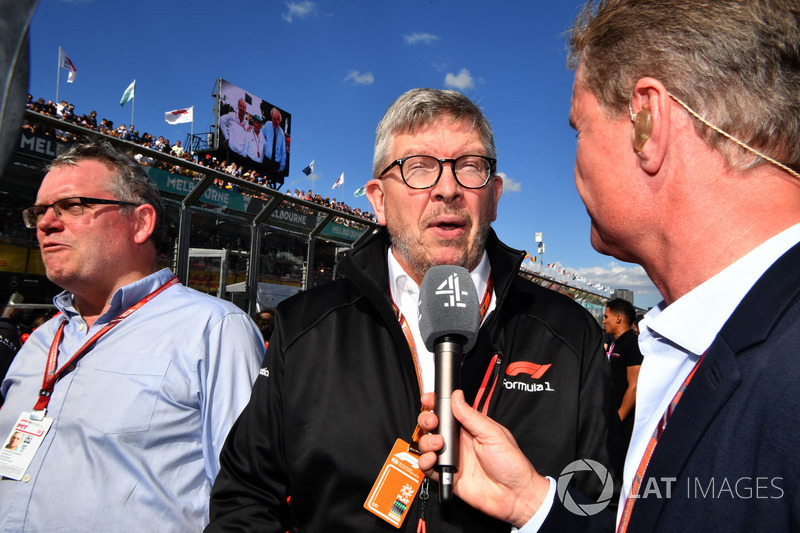 Joe Saward, Gzeteci, Ross Brawn, Formula 1 Motorsporları Direktörü, David Coulthard