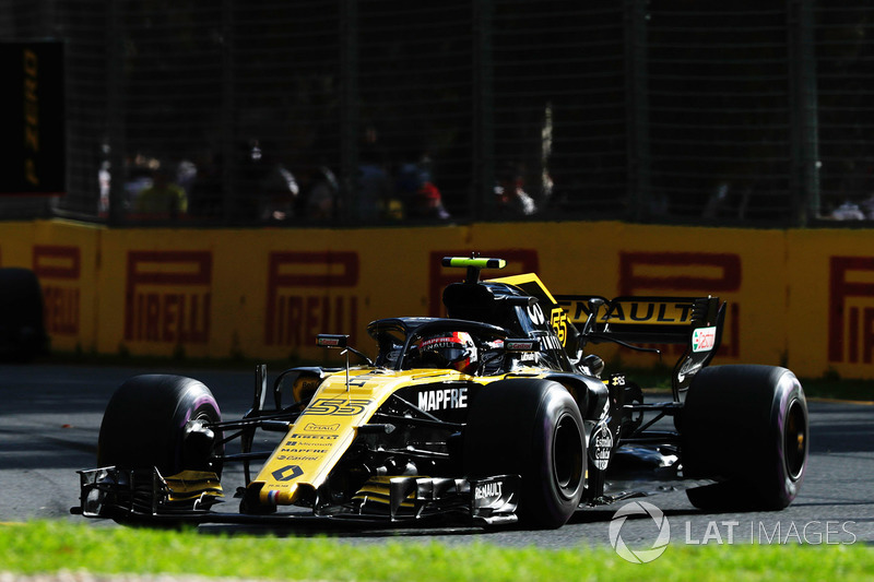 Sainz Jr nyaris muntah di tengah balapan