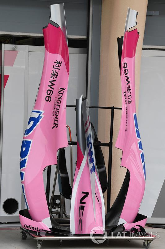 Force India VJM11 bodywork