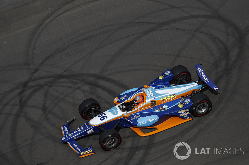 11. J.R. Hildebrand, Dreyer & Reinbold Racing, Chevrolet