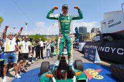 Race winner Rinus van Kalmthout