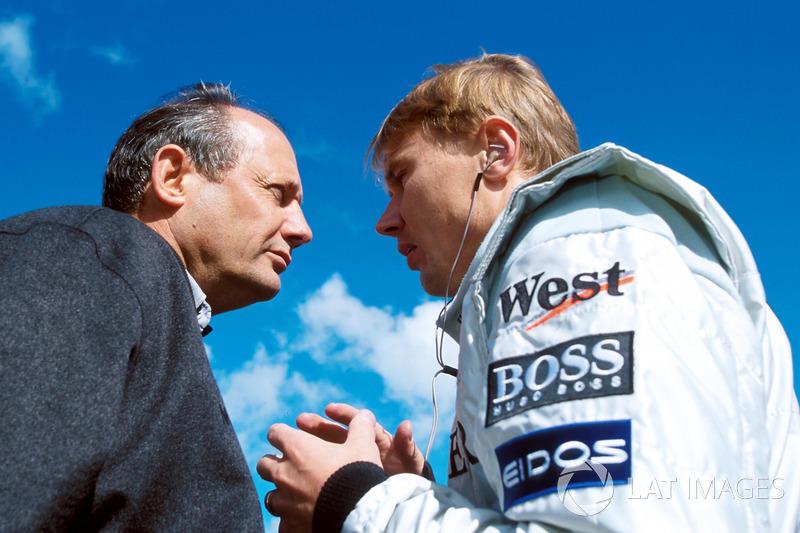 Ron Dennis, Mclaren Boss ve Mika Hakkinen