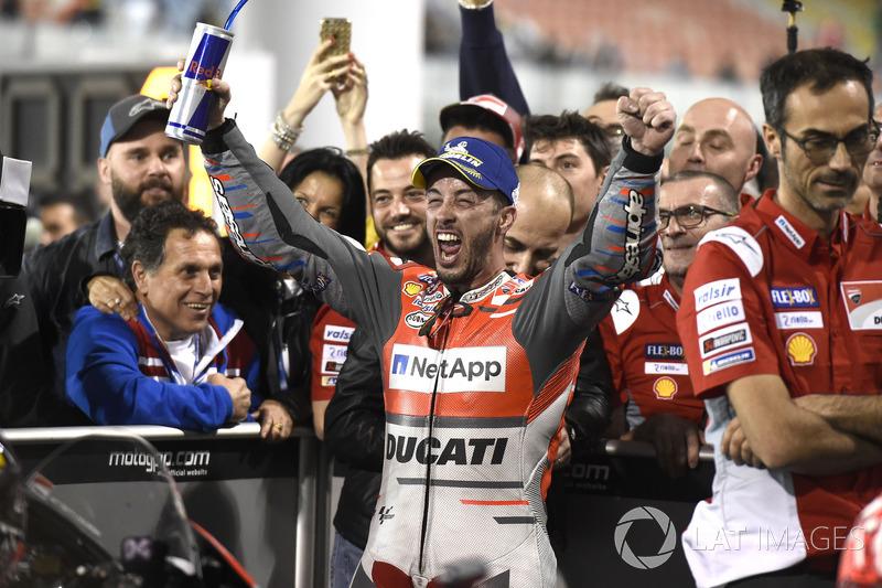 Winner Andrea Dovizioso, Ducati Team