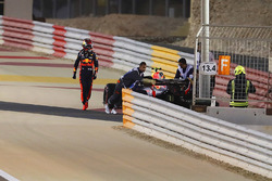 Max Verstappen, Red Bull Racing RB14 Tag Heuer, abandonne
