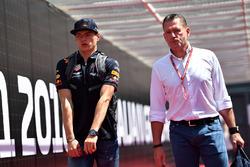 Max Verstappen, Red Bull Racing ve babası Jos Verstappen