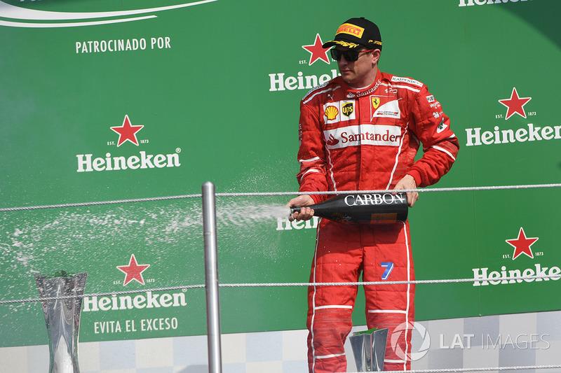 Kimi Raikkonen - 2 (30º no ranking): GPs da Austrália 2007 e Espanha 2008.