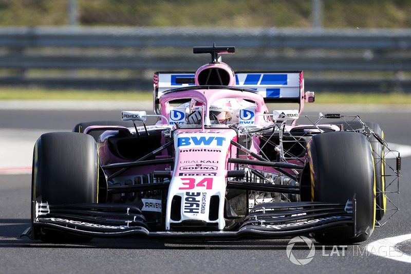 Nicholas Latifi, Force India VJM11
