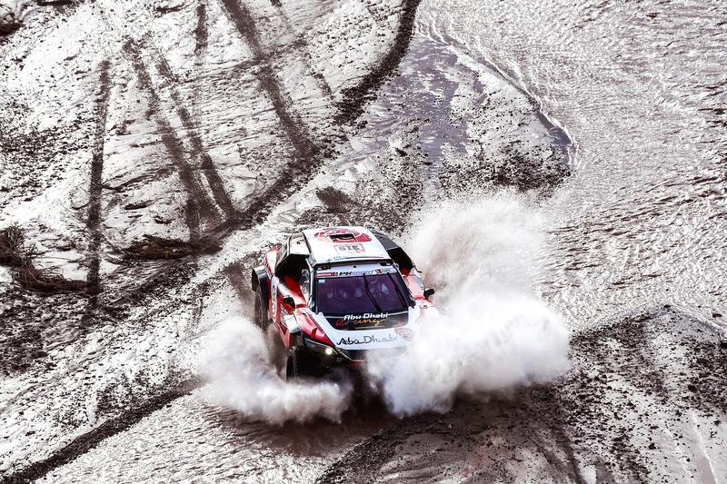 Халид Аль-Кассими и Ксавье Пансери, PH-Sport, Peugeot 3008 DKR