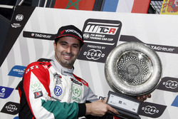 Podium: second place Mehdi Bennani, Sébastien Loeb Racing Volkswagen Golf GTI TCR