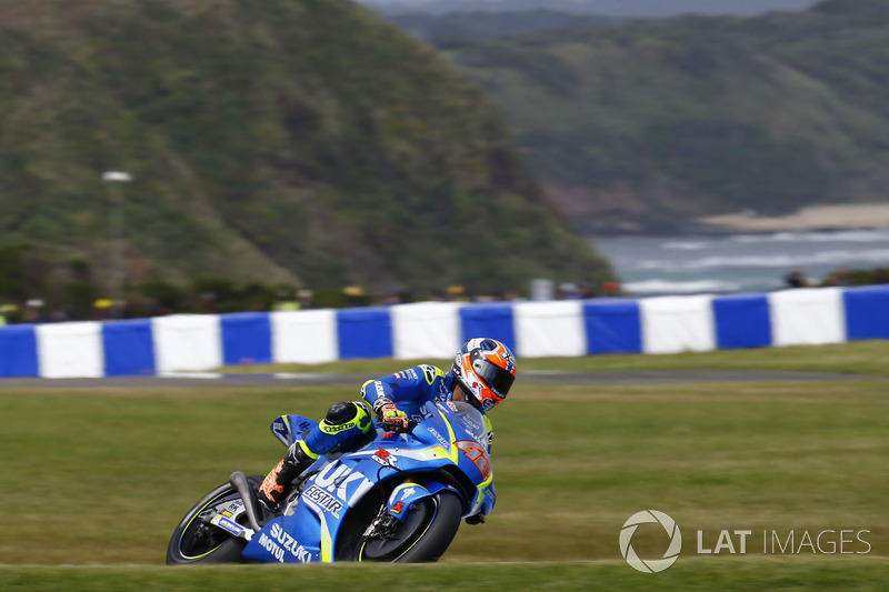 13. Alex Rins, Team Suzuki MotoGP
