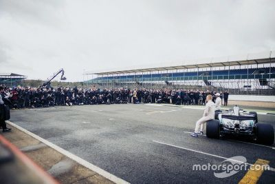 Mercedes AMG F1 W08 Hybrid lansmanı