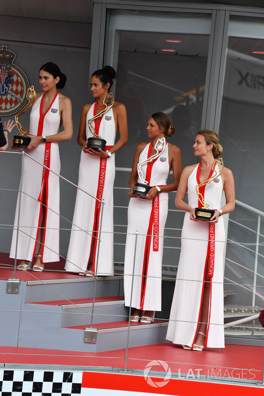 Modelle TAG Heuer sul podio