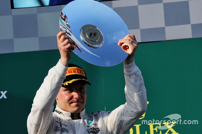 Bottas llegó a la decena de podios en la Fórmula 1