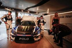 Petter Solberg e Johan Kristoffersson, PSRX Volkswagen Sweden, VW Polo GTi