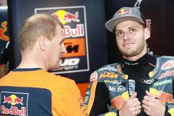 Aki Ajo, Team Principal Ajo Motorsport con Brad Binder, Red Bull KTM Ajo