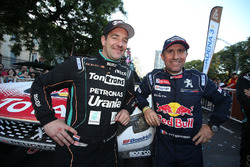 Ton Van Genugten, Team de Rooy and Stéphane Peterhansel, Peugeot Sport