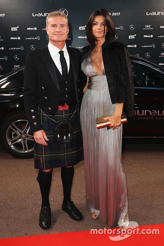 David Coulthard mit Ehefrau Karen Minier