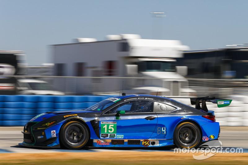 #15 3GT Racing, Lexus RCF GT3: Robert Alon, Jack Hawksworth, Austin Cindric